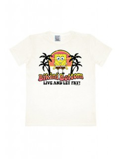 Spongebob Bikini Bottom T-Shirt Easy Fit weiss-bunt