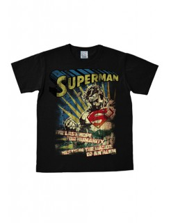 Superman The Last Hope T-Shirt Easy Fit schwarz