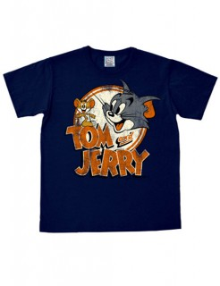 Tom & Jerry Fanshirt dunkelblau