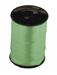 Geschenkband Verpackungsband hellgrün 5mx5mm
