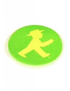 Ampelmännchen Haftnotizblock Ostalgie grün-gelb 6cm