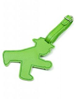 Ampelmännchen Adressanhänger Ostalgie grün 10x8,5cm