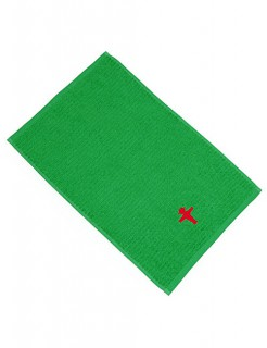Ampelmännchen Handtuch Ostalgie grün-rot 30x50cm
