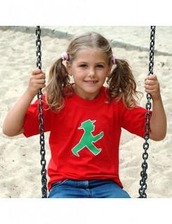 Ampelmännchen-T-Shirt für Kinder Ostalgie rot-grün