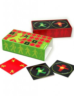 Ampelmännchen-Memory Spiel bunt