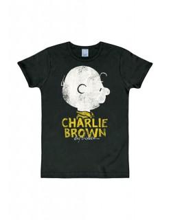 Charlie Brown T-Shirt Peanuts™ schwarz-gelb