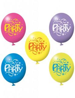 Luftballons Party Geburtstag Party-Deko 6 Stück bunt