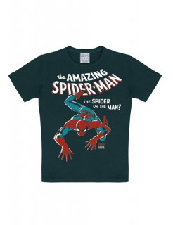 Marvel Spiderman Kinder T-shirt black