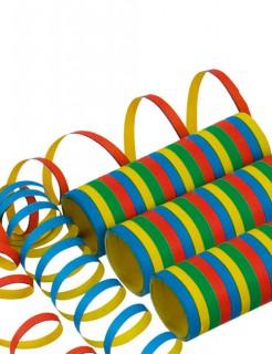 Luftschlangen-Set Streifen Party-Deko 3 Stück bunt 400x0,7cm