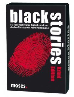 Black Stories Krimi Edition schwarz-weiss-rot 9x13cm