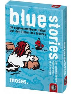Blur Stories - 50 sagenumwobene Rätsel aus den Tiefen des Meeres blau-bunt 9x13cm