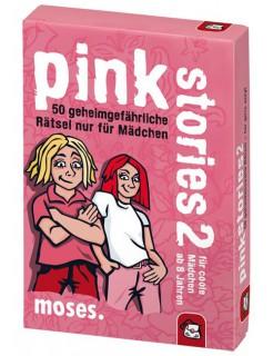 Pink Stories 2 - 50 geheimgefährliche Rätsel nur für Mädchen pink-bunt 9x13cm
