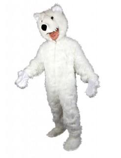 Eisbär Bär Bärchen Plüschbär Kostüm weiss