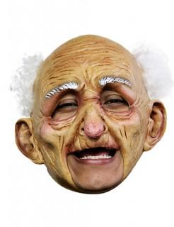 Fröhlicher Opa Kinnlose Maske haut-weiss