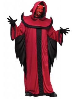 Teufel Halloween Kostüm rot-schwarz