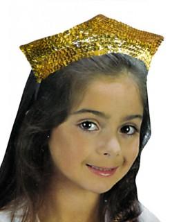 Tiara Prinzessinnen Diadem für Kinder gold
