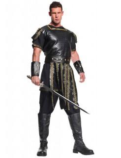 Römischer Krieger Antike Kostüm braun-gold