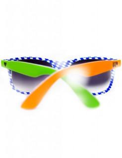 Nerdy!s Punk Oktoberfest Nerd Brille grün-orange-blau