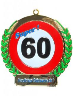 Orden 60. Geburtstag bunt