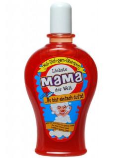 Shampoo Liebste Mama der Welt Muttertags-Geschenk rot 350ml