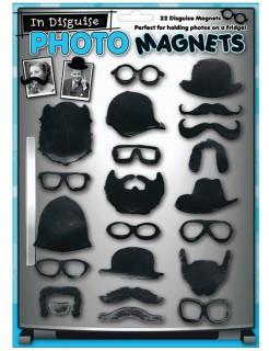 Maskierungs-Magneten Set für Fotos 22 Stück schwarz