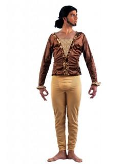 Ballett Tänzer Kostüm braun-beige
