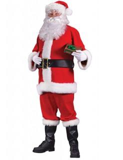 Weihnachtsmann Kostüm rot-weiss