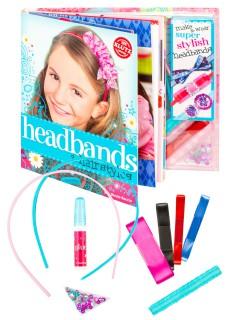 Bastelset für Haarbänder Mädchengeschenk 5-teilig bunt