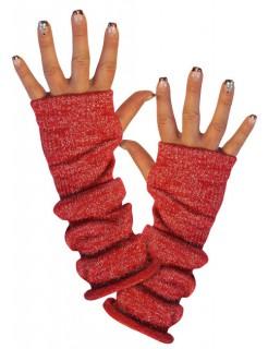 Armstulpen Armwärmer rot