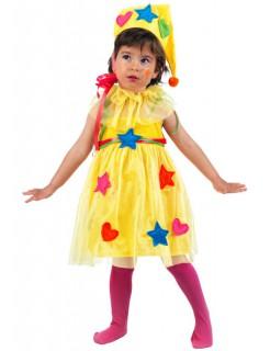 Fee Kinderkostüm Märchen gelb