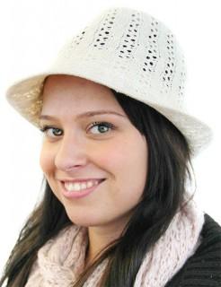 Strickhut Strick-Mütze hellbeige