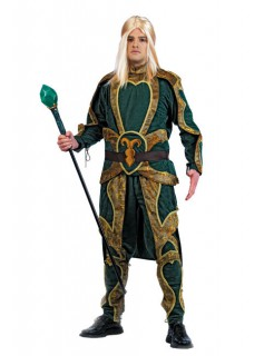Elf Fantasy Kostüm Mittelalter grün-gold