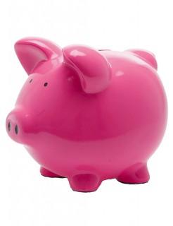 Sparschwein Spardose Schweinchen pink 21x18x19cm