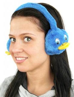 Ohrenwärmer Ente blau