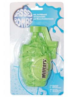 Wasserbomben Set Military-Look 3-teilig grün