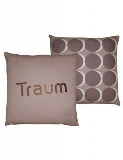 70er Retro Kissenbezug Traum braun-beige 50x50cm