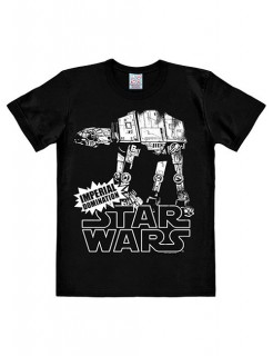 Star Wars™-T-Shirt AT-AT Slim Fit schwarz-weiss