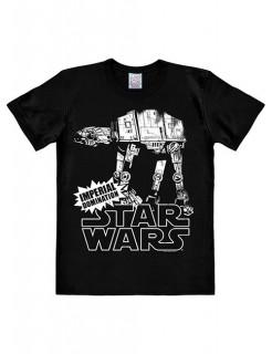 Star Wars™-T-Shirt AT-AT Slim Fit schwarz-weiss