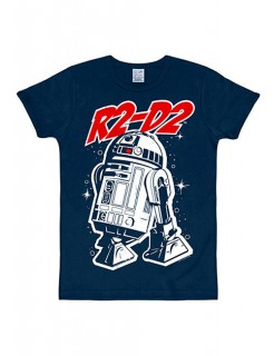 R2-D2-T-Shirt Star Wars™ Slim Fit blau-weiss-rot