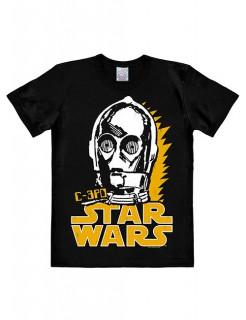 C-3PO-Shirt Star Wars™ Easyfit schwarz-weiss-gelb
