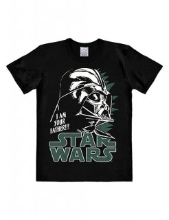 Star Wars™-T-Shirt Darth Vader Easy Fit schwarz-weiss-grün