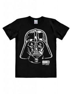 Darth Vader-T-Shirt Porträt Star Wars™ Easyfit schwarz-weiss