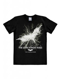 DC Comics Batman T-Shirt The Dark Knight Rises Easy Fit Lizenzware schwarz-grau