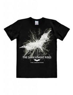 DC Comics Batman T-Shirt The Dark Knight Rises Easy Fit Lizenzware schwarz-grau