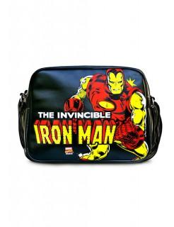 Marvel Umhängetasche Iron Man schwarz-gelb-rot