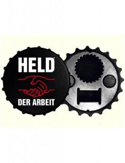 Held der Arbeit Flaschenöffner schwarz-weiss-rot 8cm