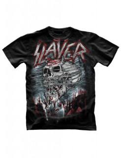 Slayer-T-Shirt Demon Storm schwarz-rot-weiss