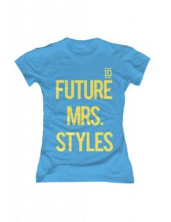 One Direction Future Mrs. Styles Damen T-Shirt Slim