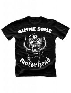 Motörhead-T-Shirt Gimme some schwarz-weiss