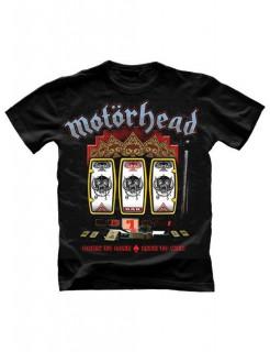 Motörhead-T-Shirt Einarmiger Bandit schwarz-bunt